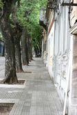 Sdiewalk in Cordon, Montevideo — Stock Photo