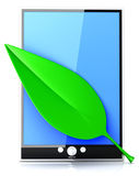 Eco Tablet Pc — Foto Stock