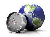 Czas na świecie — Zdjęcie stockowe