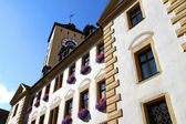 Historic building in Regensburg — Stock Photo