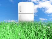 Geladeira ecológica — Fotografia Stock