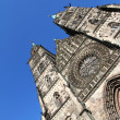 Cathedral St. Lorenz of Nuremberg — Foto Stock