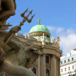 View on the Hofburg in Vienna — Stock Photo