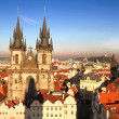 Teyn Church in Prague — Stock Photo