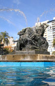 Monumento de Entrevero in Montevideo — Stock Photo