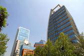 Architecture in Santiago de Chile — Stock Photo
