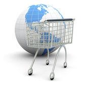 Global Shopping — Stock Photo