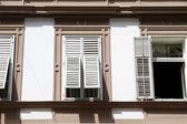 Viejas ventanas en graz — Foto de Stock