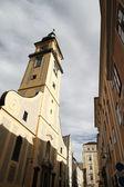 Historische kirche in linz — Stockfoto