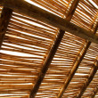 Bamboo roof - Stock Photo