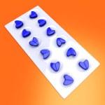 Blue Love Pills — Stock Photo #9676041