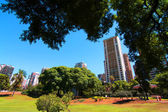 Plaza Barrancas de Belgrano in Buenos Aires — Stock Photo