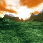 Digital Landscape — Stock Photo #9772642