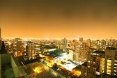 Sunset over Sao Paulo — Stock Photo