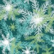 Christmas pattern, vector. — Vettoriali Stock