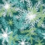 Christmas pattern, vector. — Stock Vector