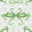 Royalty-Free Stock Vectorafbeeldingen: Romance pattern with love swan, vector.