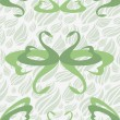 Royalty-Free Stock Imagem Vetorial: Romance pattern with love swan, vector.