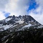 Snowy Mountain Peak — Stock Photo