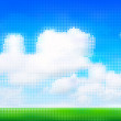 Royalty-Free Stock Vector Image: Cloudy sky