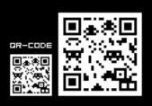 QR-code — Stock Vector