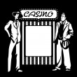 Casino mafia — Stock Vector