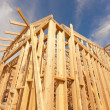 New Construction Home Framing Abstract — Stock Photo #9154024