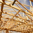 New Construction Home Framing Abstract — Stock Photo #9154757