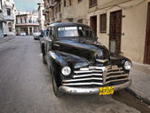 Classic Chevrolet in Havana — Stock Photo