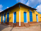House in the colonial town of Trinidad in Cuba — Stock Photo