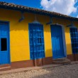 Colorful house in the colonial town of Trinidad in Cuba — Stock Photo #10254177