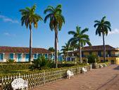 Central square in Trinidad, Cuba — Стоковое фото