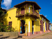 The touristic town of Trinidad in Cuba — Foto de Stock