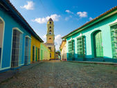 The colonial town of Trinidad in Cuba — Stockfoto