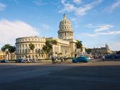 Havana'da bina capitol — Stok fotoğraf