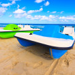 Varadero beach in Cuba - Stock Photo