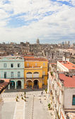 Aerial view of Old Havana — Stock Photo