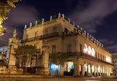 Restored spanish palace in Old Havana — Stock Photo