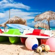 Stock Photo: The beautiful beach of Varadero in Cuba
