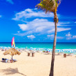 The worlwide famous beach of Varadero in Cuba — Stock Photo #8481255