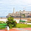 The iconic castle of El Morro, a symbol of Havana — Stock Photo #8481258
