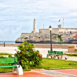 Royalty-Free Stock Photo: The iconic castle of El Morro, a symbol of Havana