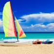 Famous beach of Varadero in Cuba — Stock Photo #8481383