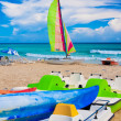 Famous beach of Varadero in Cuba — Stock Photo #8481407