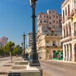 Prado, a famous street in Old Havana — Stock Photo