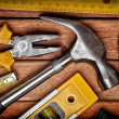 Set of manual tools — Stock Photo #8481483