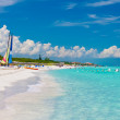 The beautiful cuban beach of Varadero — Stock Photo #8481848