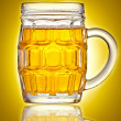 Pint of beer — Stock Photo