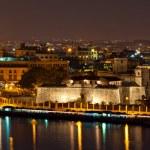 Old Havana illuminated at night — Stock Photo