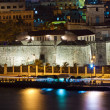 Old Havana illuminated at night — Stock Photo